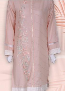 Sheep Casual Cotton Stitched Kurti SC100838 PINK