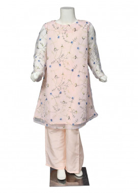 Sheep Net Fancy 2 Piece Suit for Girls -  SK30006 Pink