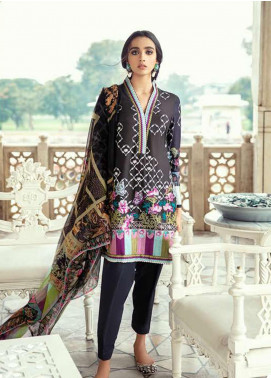 Sheesh Mahal by Cross Stitch Embroidered Lawn Unstitched 3 Piece Suit CS20SH 04 Merlot Dream - Luxury Collection
