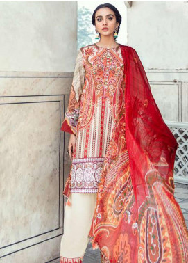 Sheesh Mahal by Cross Stitch Embroidered Lawn Unstitched 3 Piece Suit CS20SH 20 Ethno Serene - Luxury Collection