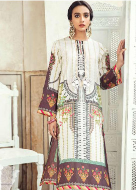 Sheesh Mahal by Cross Stitch Embroidered Lawn Unstitched 2 Piece Suit CS20SH 23 Aztec Shadow - Luxury Collection