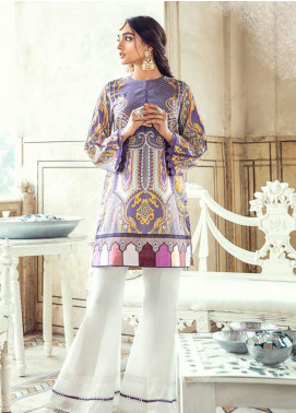 Sheesh Mahal by Cross Stitch Embroidered Lawn Unstitched 2 Piece Suit CS20SH 25 Purple Glaze - Luxury Collection