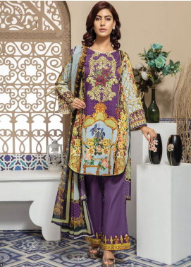 Master Fabrics Embroidered Lawn Unstitched 3 Piece Suit MF20SF 297 - Festive Collection