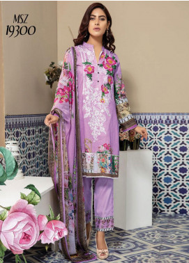 Master Fabrics Embroidered Lawn Unstitched 3 Piece Suit MF20SF 300 - Festive Collection