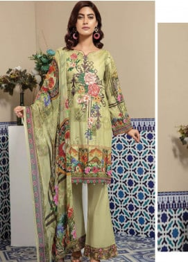 Master Fabrics Embroidered Lawn Unstitched 3 Piece Suit MF20SF 301 - Festive Collection