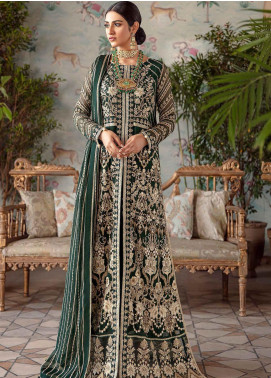 Shehnai by Afrozeh Embroidered Chiffon Unstitched 3 Piece Suit AF20WF 08 Mastani - Wedding Collection