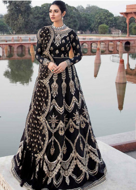 Shehnai by Afrozeh Embroidered Organza Unstitched 3 Piece Suit AF20WF 10 Dur-e-Fishan - Wedding Collection