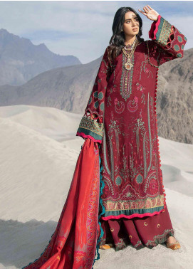 Shigar by Republic WomensWear Embroidered Khaddar Unstitched 3 Piece Suit RW20SW 1 Esfir - Winter Collection