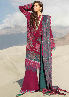 Shigar by Republic WomensWear Embroidered Karandi Unstitched 3 Piece Suit RW20SW 2 Afsoon - Winter Collection