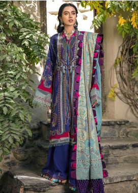 Shigar by Republic WomensWear Embroidered Karandi Unstitched 3 Piece Suit RW20SW 4 Qasandan - Winter Collection