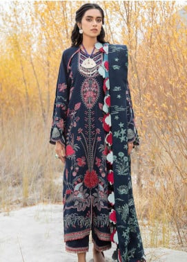 Shigar by Republic WomensWear Embroidered Karandi Unstitched 3 Piece Suit RW20SW 5 Laleh - Winter Collection