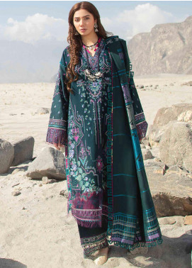Shigar by Republic WomensWear Embroidered Khaddar Unstitched 3 Piece Suit RW20SW 7 Kirmizi - Winter Collection