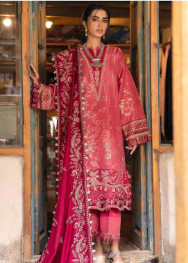 Shigar by Republic WomensWear Embroidered Jacquard Unstitched 3 Piece Suit RW20SW 8 Mehzabeen - Winter Collection