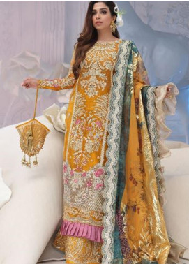 Shiza Hassan Embroidered Organza Unstitched 3 Piece Suit SH21LF 05 Nirvana - Luxury Collection