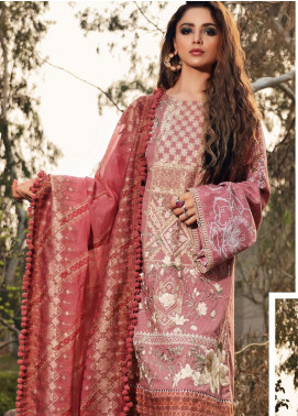 Shiza Hassan Embroidered Lawn Unstitched 3 Piece Suit SH20L 1-B BLISS - Luxury Collection