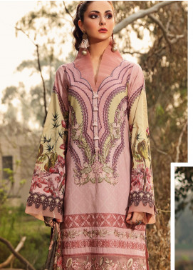 Shiza Hassan Embroidered Lawn Unstitched 3 Piece Suit SH20L 6-B SPRING AURA - Luxury Collection