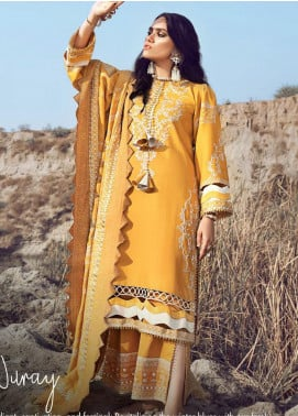 Shiza Hassan Embroidered Karandi Unstitched 3 Piece Suit SH21W 003 Nuray - Winter Collection