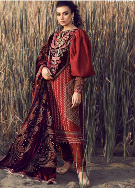 Shiza Hassan Embroidered Jacquard Unstitched 3 Piece Suit SH21W 004 Dilara - Winter Collection