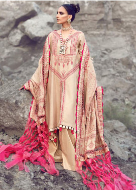 Shiza Hassan Embroidered Jacquard Unstitched 3 Piece Suit SH21W 006 Sahane - Winter Collection