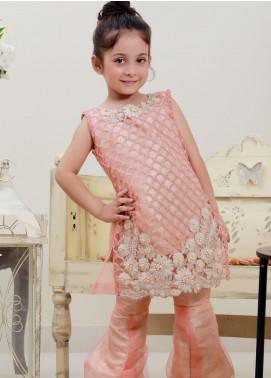 Sidra Mumtaz Net Fancy 3 Piece Suit for Girls -  GLORIFIED