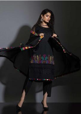 Sidra Mumtaz Embroidered Schiffli Stitched 3 Piece Suit MEHR