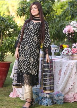 Sidra Mumtaz Embroidered Lawn Stitched 3 Piece Suit Alaya