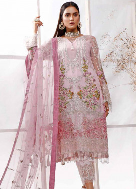 Sifona Embroidered Chiffon Unstitched 3 Piece Suit SF20E SEL-01 RAVEL VOGUE - Luxury Collection