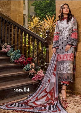 Sifona Embroidered Lawn Unstitched 3 Piece Suit SF20ML 04 - Luxury Collection