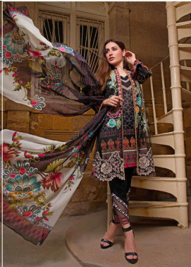 Sifona Embroidered Lawn Unstitched 3 Piece Suit SF20ML 06 - Luxury Collection