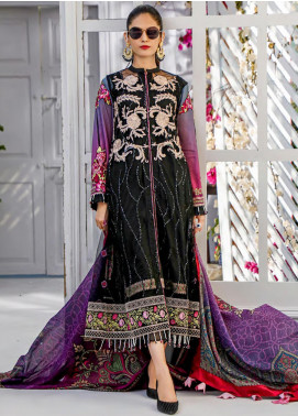 Sifona Embroidered Lawn Unstitched 3 Piece Suit SF20MJ SLL-12 - Luxury Collection