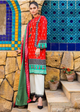 Signature Icon by ZS Textiles Printed Lawn Unstitched 3 Piece Suit ZS20SI 10A - Summer Collection