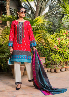 Signature Icon by ZS Textiles Printed Lawn Unstitched 3 Piece Suit ZS20SI 10B - Summer Collection