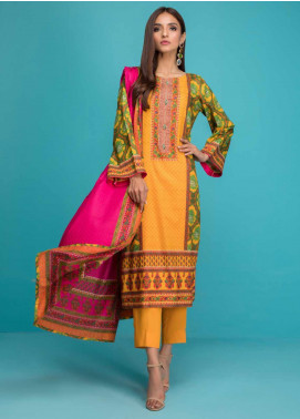Signature Icon by ZS Textiles Printed Lawn Unstitched 3 Piece Suit ZS20SI 9A - Summer Collection