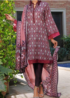 VS Textiles Printed Lawn Unstitched 3 Piece Suit VS20SL 202-A - Spring / Summer Collection