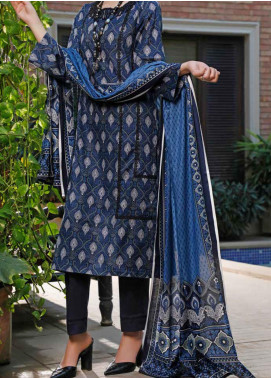 VS Textiles Printed Lawn Unstitched 3 Piece Suit VS20SL 202-B - Spring / Summer Collection