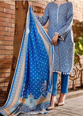 VS Textiles Printed Lawn Unstitched 3 Piece Suit VS20SL 205-B - Spring / Summer Collection