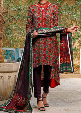 VS Textiles Printed Lawn Unstitched 3 Piece Suit VS20SL 206-A - Spring / Summer Collection