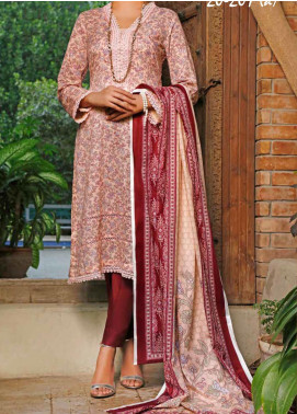 VS Textiles Printed Lawn Unstitched 3 Piece Suit VS20SL 207-A - Spring / Summer Collection