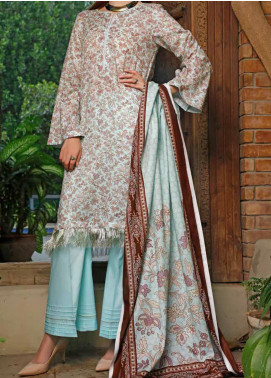 VS Textiles Printed Lawn Unstitched 3 Piece Suit VS20SL 207-B - Spring / Summer Collection