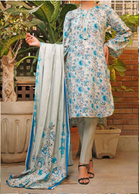 VS Textiles Printed Lawn Unstitched 3 Piece Suit VS20SL 210-B - Spring / Summer Collection