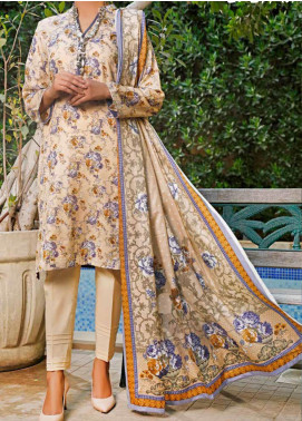 VS Textiles Printed Lawn Unstitched 3 Piece Suit VS20SL 211-B - Spring / Summer Collection