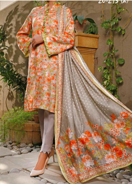 VS Textiles Printed Lawn Unstitched 3 Piece Suit VS20SL 213-A - Spring / Summer Collection