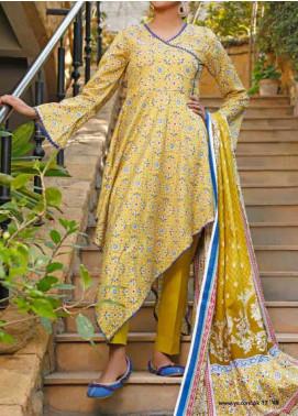 VS Textiles Printed Lawn Unstitched 3 Piece Suit VS20-SL2 14A - Summer Collection