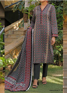 VS Textiles Printed Lawn Unstitched 3 Piece Suit VS20-SL2 15A - Summer Collection