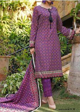 VS Textiles Printed Lawn Unstitched 3 Piece Suit VS20-SL2 15B - Summer Collection