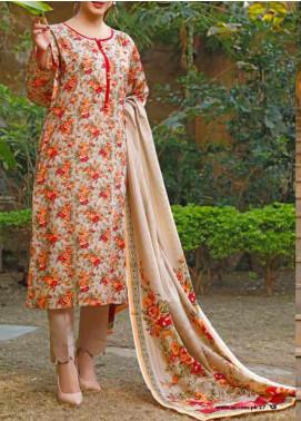 VS Textiles Printed Lawn Unstitched 3 Piece Suit VS20-SL2 16B - Summer Collection