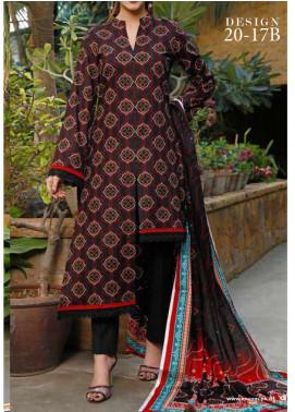 VS Textiles Printed Lawn Unstitched 3 Piece Suit VS20-SL2 17B - Summer Collection