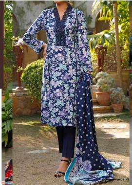 VS Textiles Printed Lawn Unstitched 3 Piece Suit VS20-SL2 18A - Summer Collection