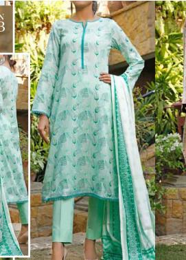 VS Textiles Printed Lawn Unstitched 3 Piece Suit VS20-SL2 3B - Summer Collection