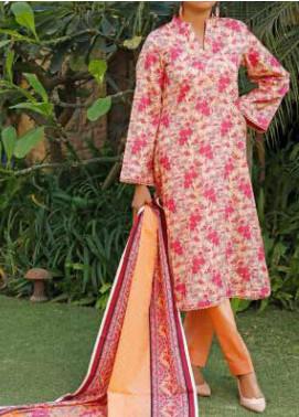 VS Textiles Printed Lawn Unstitched 3 Piece Suit VS20-SL2 9B - Summer Collection